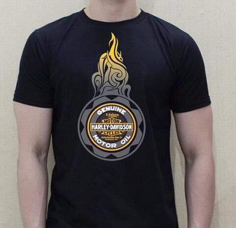 t-shirt Harley davidson Asia berkualitas