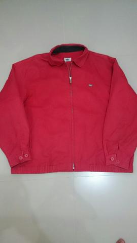 Terjual Jaket lacoste original warna merah size sesuai M indonesia ... 7fb834bcd1