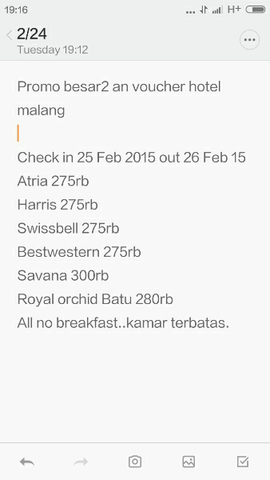 voucher hotel malang sby