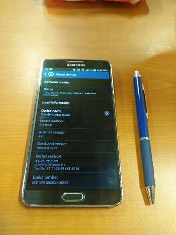 Jual Samsung Galaxy Note 3 N900 masih mulussssss