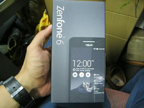 Gadget Murah Asus Zenfone 6 Black Fullset Pemakaian 3 Bulan