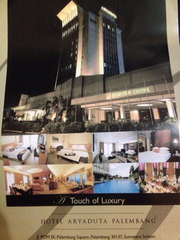 Voucher Hotel Aryaduta Palembang
