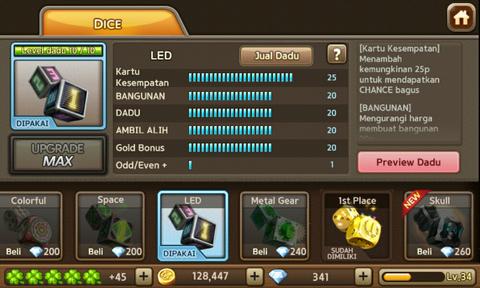 Jual id LGR ( Get Rich )