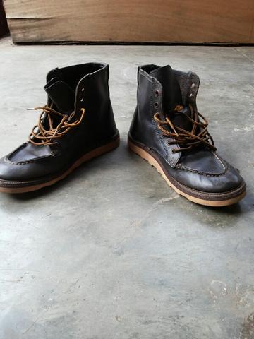 sepatu boots maddox model redwing size 43 murmer mulus