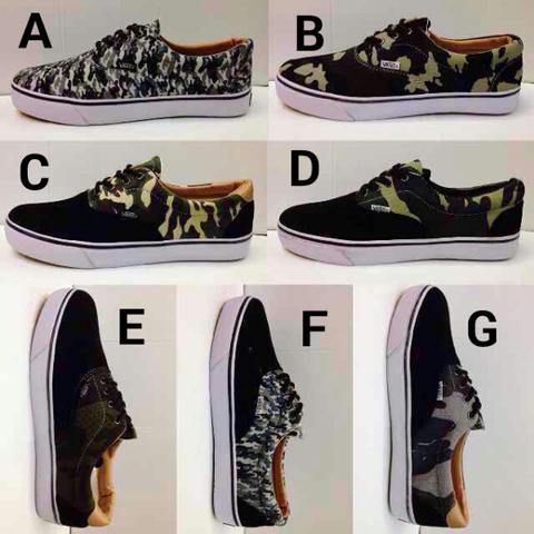 Sepatu vans ARMY Grade ORI