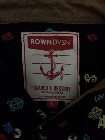 WTS Shirt ROWN DIVISION size L