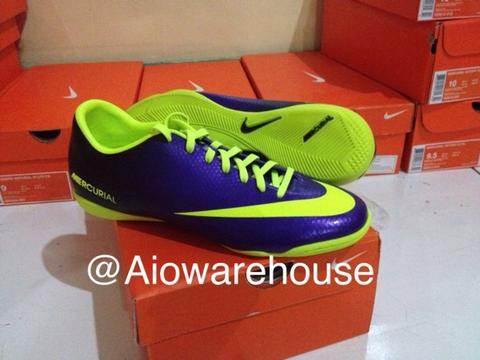 Sepatu Futsal Nike Mercurial Victory IV IC original 100%...!!!