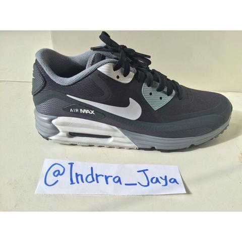 @indrra_jaya | Nike Airmax Lunar90 WR black&blue Original