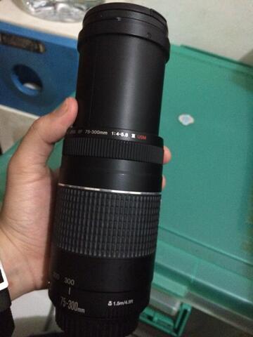 lensa canon 75-300 gen-III