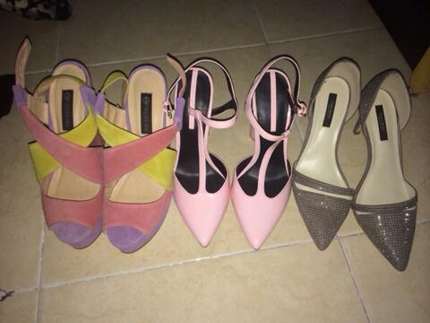 heels forever new, zara