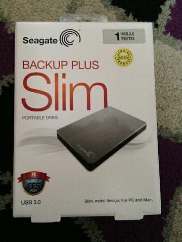 Seagate Backup Plus Slim 1tb