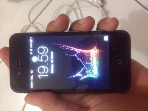 DIJUAL/ Tuker Tambah/Barter IPHONE 4S 16GB BLACK