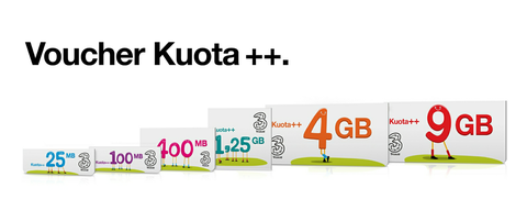 pulsa bolt, voucher kuota++ tri, inject paket internet/BB indosat & XL