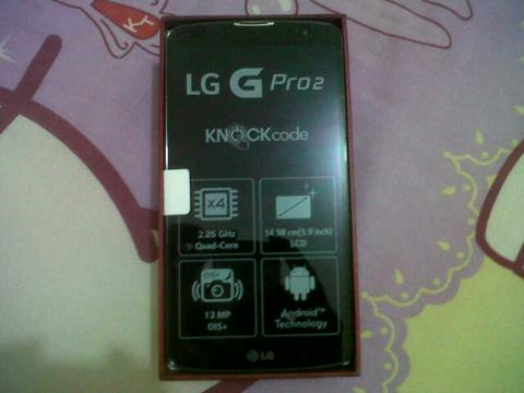 LG G Pro2 16GB LTE Titan BNOB(Brand New Outbox)