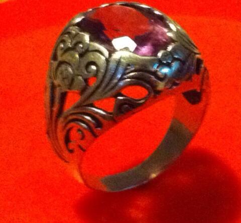 Karya Seni, Arts, Craftsmanship. Cincin (Ring) - Amethyst