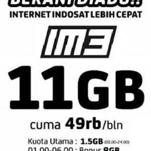 indosat 11 GB