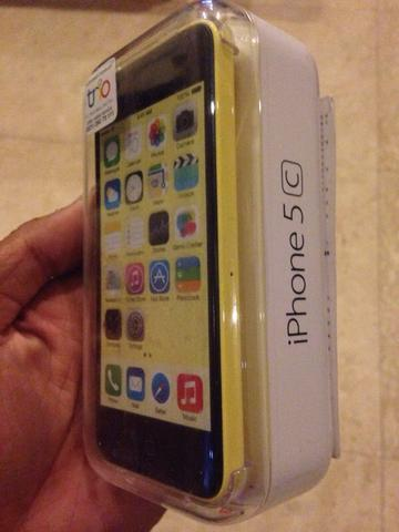BNIB iPhone 5C 32gb yellow Surabaya