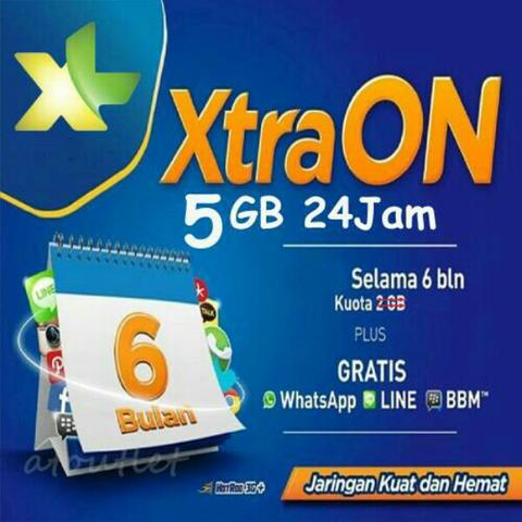 XL XtraON 6GB MURAAAAHH GA RIBET