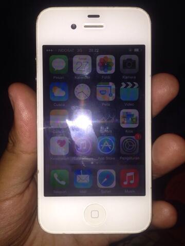 Terjual Jual Iphone 4s 16gb White Su Murah Unlocked R Sim Kaskus