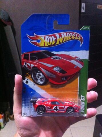 Jual Hotwheels Ford Gt T Hunt Treasure Hunt