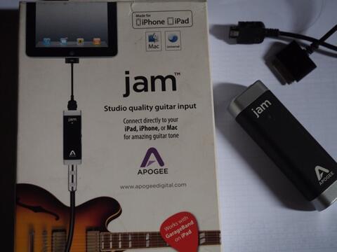 apogee jam interface ipad guitar