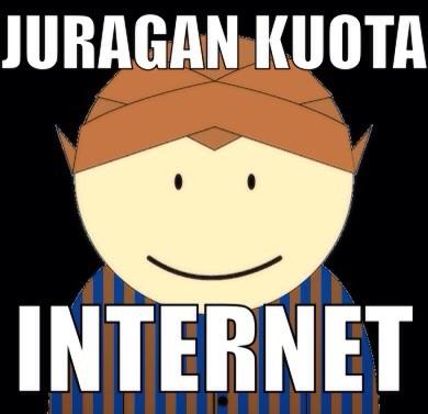 Jasa inject kuota internet Three (3), Indosat, Telkomsel, Axis, BOLT pasti murah