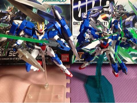 Gundam 00Q & 00 Seven Sword