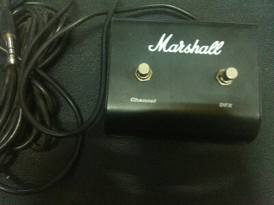 efek gitar sound ampli footswitch marshall