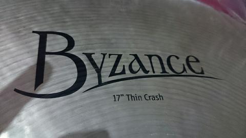WTS Meinl byzance 17 thin crash NEW