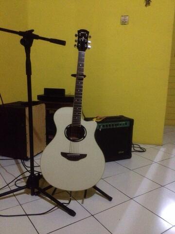 gitar akustik yamaha apx500ii acoustic guitar