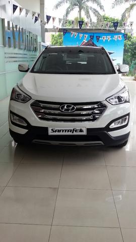 Hyundai Santafe Gasoline & CRDI VGT D-Spec 2015 tampil sport ( diskon besar )