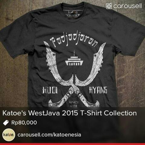 """Kaos Katoe Brand """"KUDIHYANG"""" Jawabarat collection 2015"""