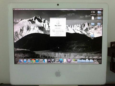 Recording Computer ex Studio (iMac)