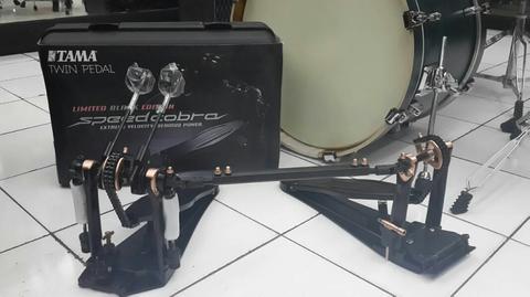 Double pedal TAMA speed cobra HP910LWCB-BK