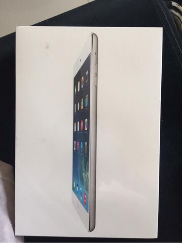 iPad Mini 16GB + Cellular Silver   BNIB Resmi
