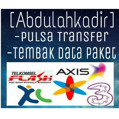 Jasa Tembak Paket Internet Telkomsel/Tri/Indosat/XL harga Murah
