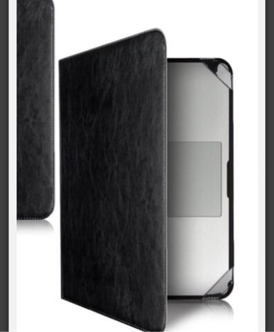 cover MacBook air 13 inci kulit hitam tipe map.
