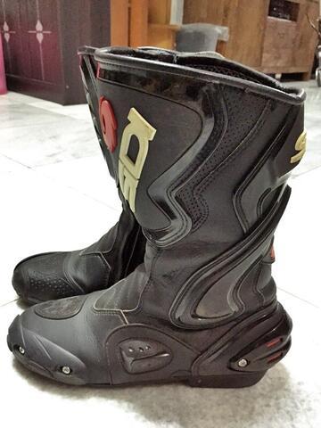 Sepatu Balap Boots Sidi uk 42 no dainese alpinestars speed gaerne