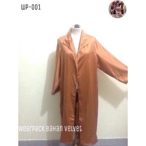 WearPack Tunik Bahan Velvet