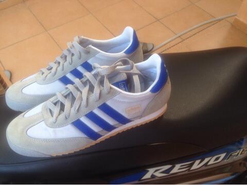 jual sepatu adidas dragon Grey & Blue