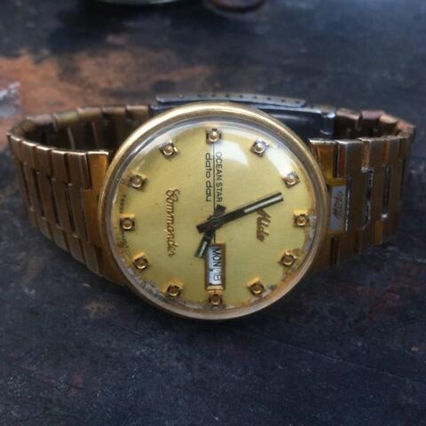 Terjual Jam Tangan Mido Commander Automatic Vintage Jadul Kuno Antik 3fa7867f91