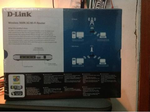 Router D-link DWR 112 Wireless 300N 3G Wi-Fi