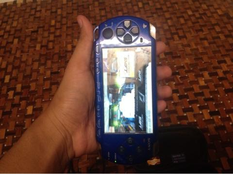 PSP 2000 blue / biru NFL edition second 2nd murah!