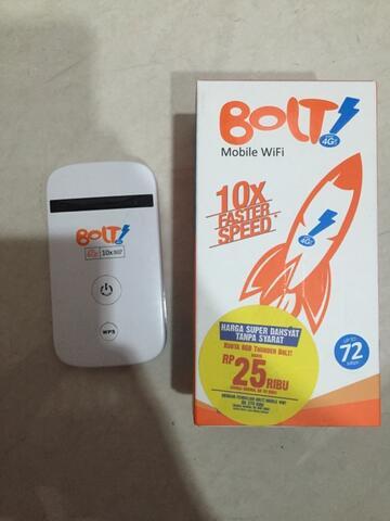 JUAL MODEM merk BOLT (Lengkap dengan kotaknya juga)
