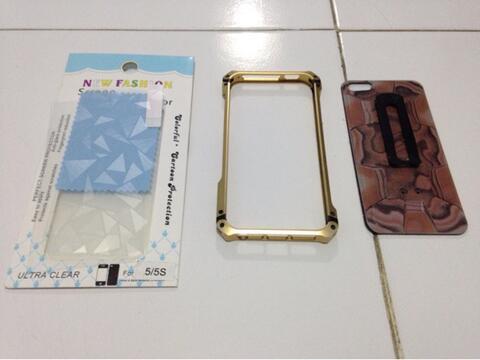 Element Case + Antigores Keren Iphone 5/5s Bandung