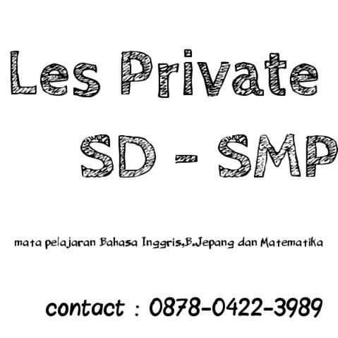 Jasa Les Private (SD- SMP)