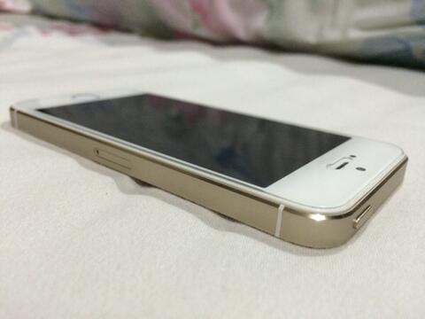 WTS iphone 5s Gold FU 16 GB ex cewe mulus !