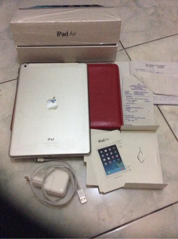 [WTS] Ipad Air 4G 32GB wifi super mulus pembelian Ibox