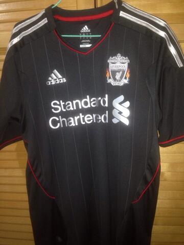 promo code e468c 0c33f jersey liverpool away 2010 - 2011
