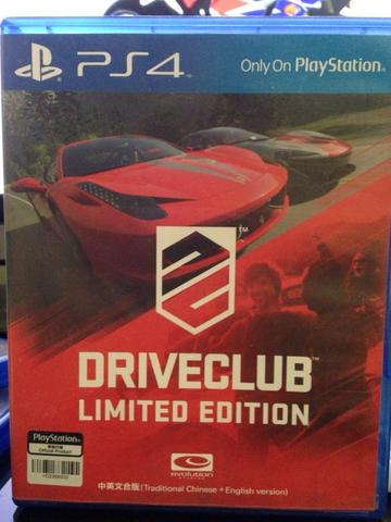 (PS4) Driveclub Limited edition mulus
